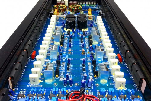 XS-SQ4 Amplifier Internal Layout