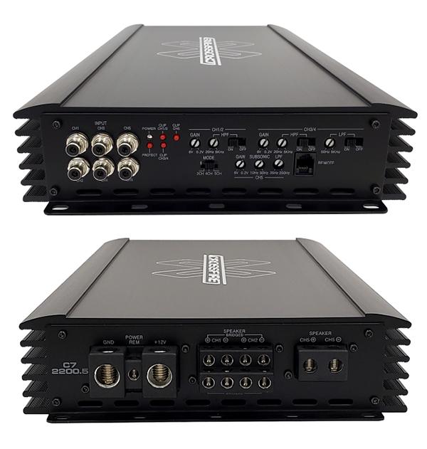 C7-2200.5 AMPLIFIER Main